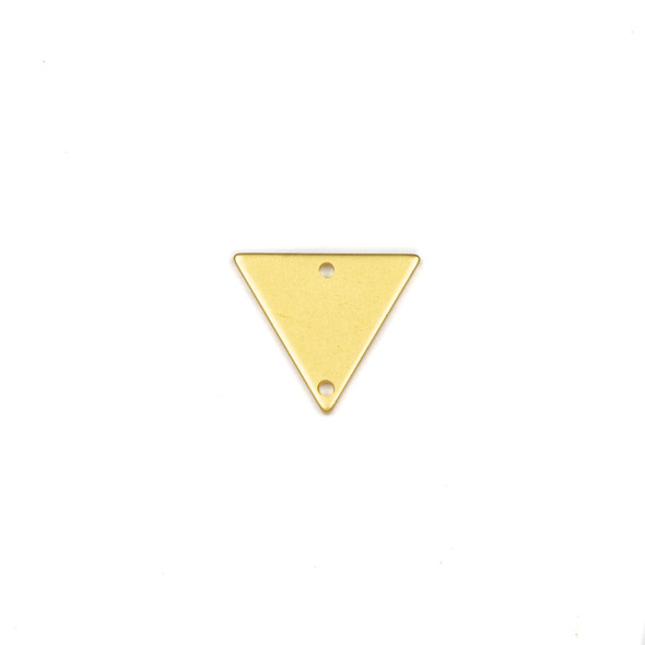 Coated Brass 13x15mm Triangle Link Components - 6 per bag - CTBPF-004c