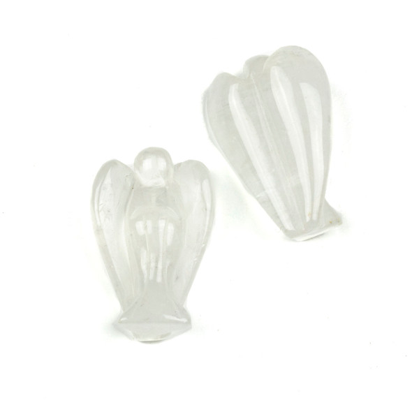 Clear Quartz Angel Statue - approx. 1.5 inch, 1 piece