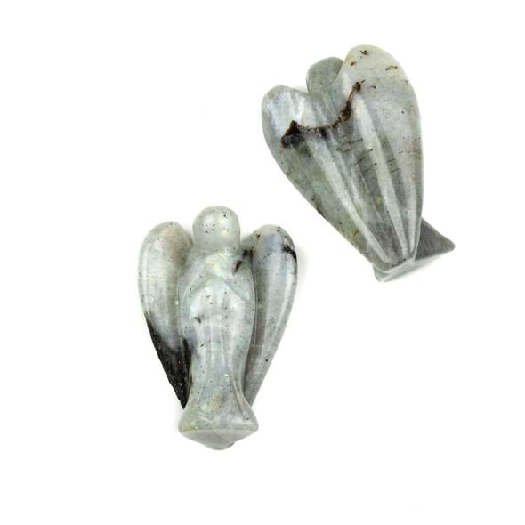 Labradorite Angel Statue - approx. 1.5 inch, 1 piece