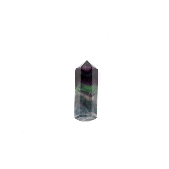 Rainbow Fluorite Small Crystal Point Tower - 1 piece
