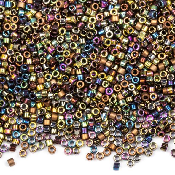 Miyuki 11/0 Heavy Metals Mix Delica Seed Beads - #MIX23, 7.2 gram tube