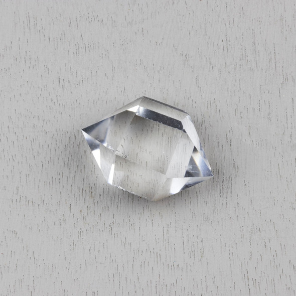 "Quartz Crystal Double Terminated Point - approx. .75-1.25"" x 2-2.25"", 1 piece"