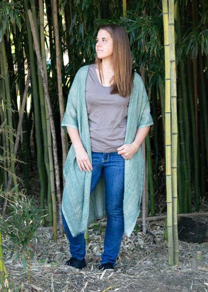 Sage Tunic Style Wrap