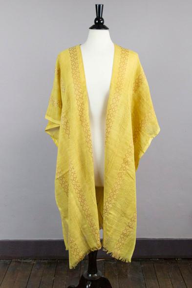 Mustard Yellow Tunic Style Wrap