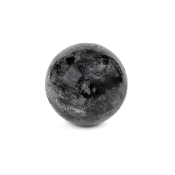 "Rutilated Quartz Sphere #1 - approx. 2"", 1 piece"