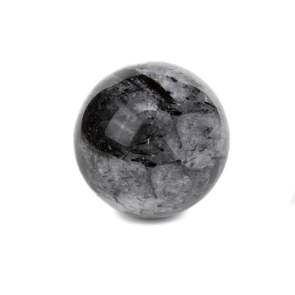 "Rutilated Quartz Sphere #4 - approx. 2.75"", 1 piece"