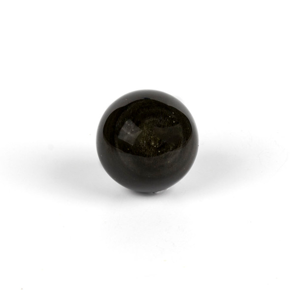 "Golden Sheen Obsidian Sphere #2 - approx. 1.5-2"", 1 piece"