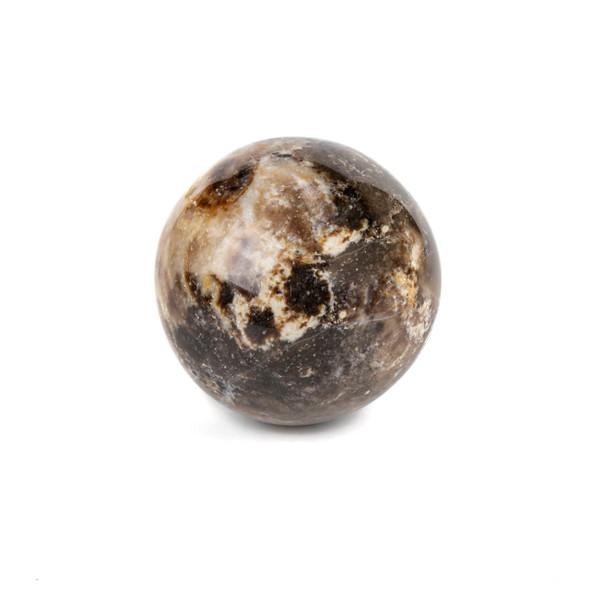"""Wood Opal Sphere #2 - approx. 2"""", 1 piece"""