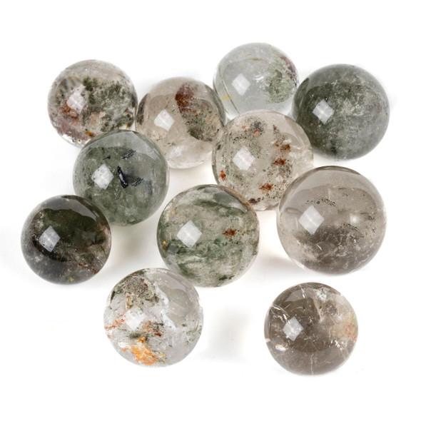 """Phantom Quartz Sphere #1 - approx. 1.75-2"""", 1 piece"""