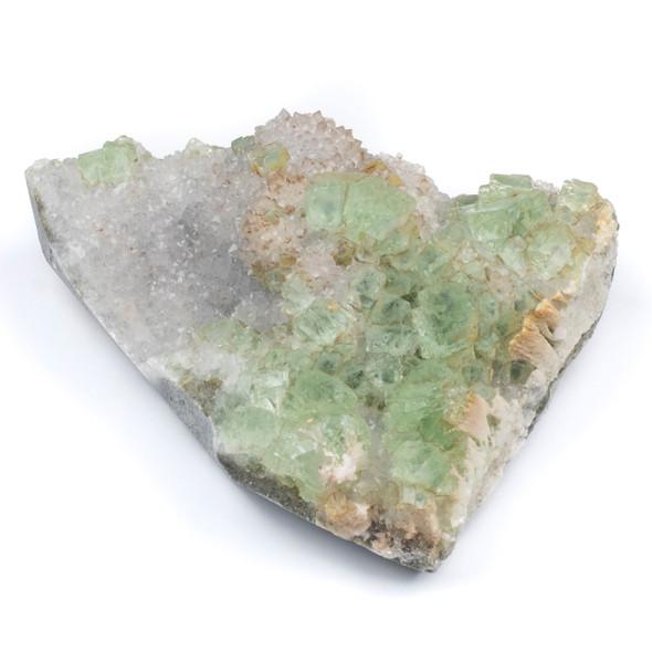 "Rainbow Fluorite Rough Specimen - #1, approx. 3 lbs, 5x6"""