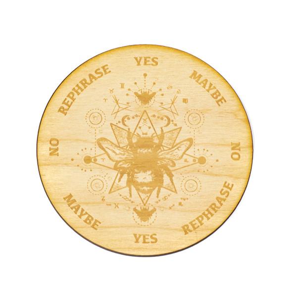 Honey Bee Pendulum Board  - 4 inch, Birch Wood