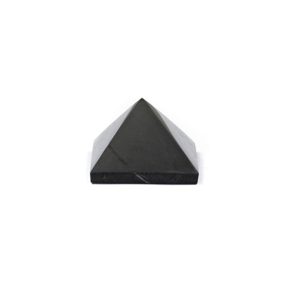 Shungite Polished Pyramid - approx. 1 inch, 1 piece