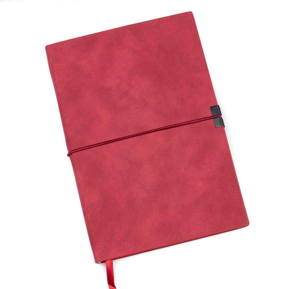 """Dotted Bullet Journal - Red, Hardcover, 120 pages, 5.5x8.25"""""""