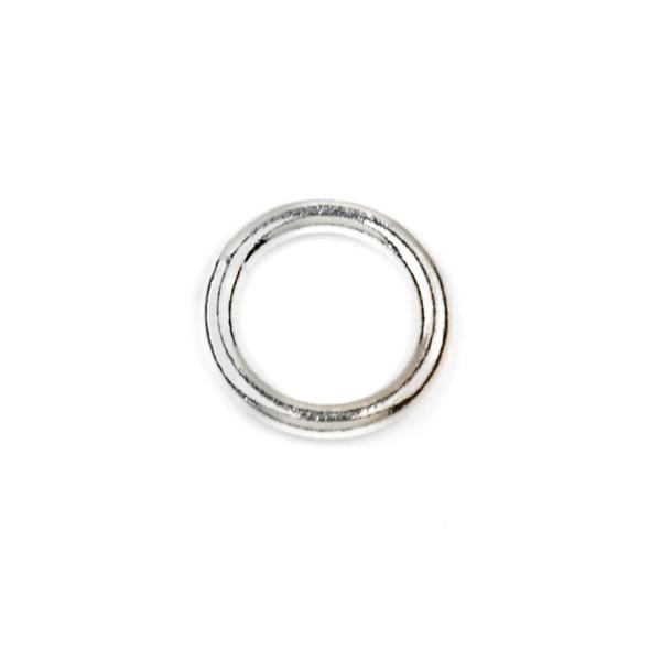 Sterling Silver 8mm Closed Jump Rings - 16 gauge - 20 per bag