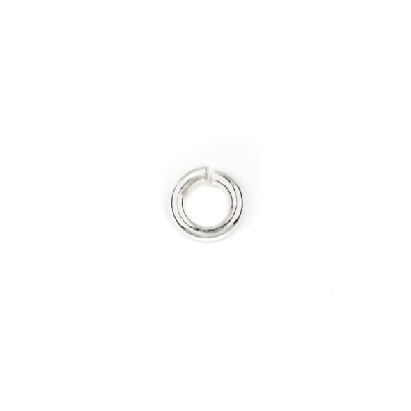 Sterling Silver 4mm Open Jump Rings - 20 gauge - 100 per bag