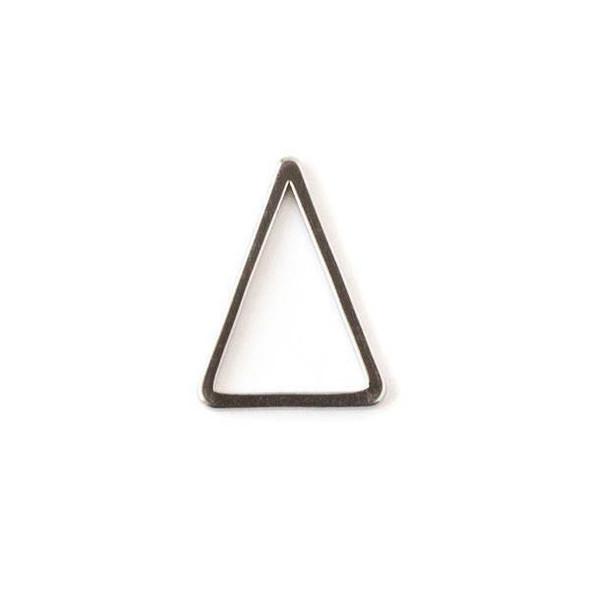 Gun Metal Colored Brass 12x15 Triangle Link - 6 per bag - ES7822gm