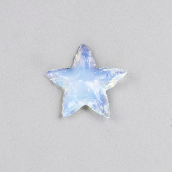 Opaline Rough Cut Star Specimen - 1 piece, approx. 25x35mm