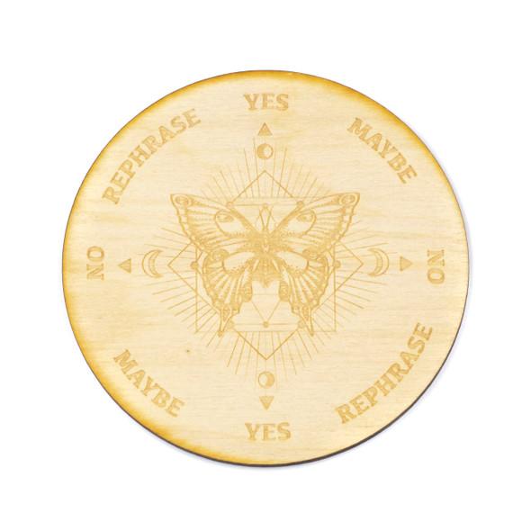 Moth Pendulum Board - 4 inch, Birch Wood