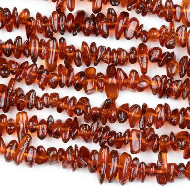 "Baltic Amber Grade ""C"" 3-8mm Chip Beads - 15.5 inch strand"
