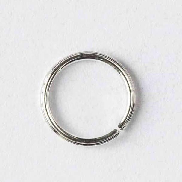 Silver Pewter 6mm Open Jump Rings - 50 per bag - baseajmprg6s