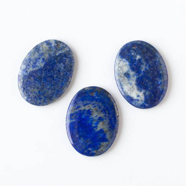 Lapis 30x40mm Large Oval Pendant