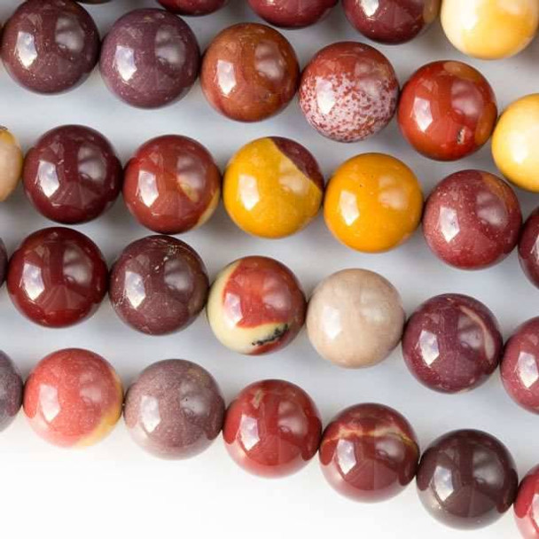 Mookaite 8mm Round Beads - approx. 8 inch strand, Set A
