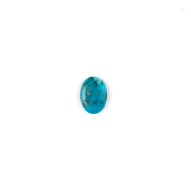"""Turquoise Grade """"AB"""" 10x14mm Oval Cabochon - 1 per bag"""