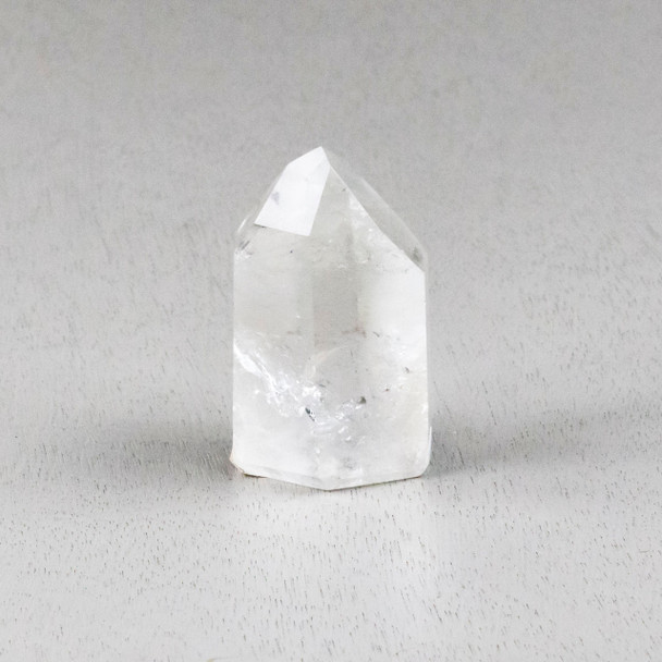 """Clear Quartz Crystal Point Tower - #6, approximately 1.5x2.5"""""""