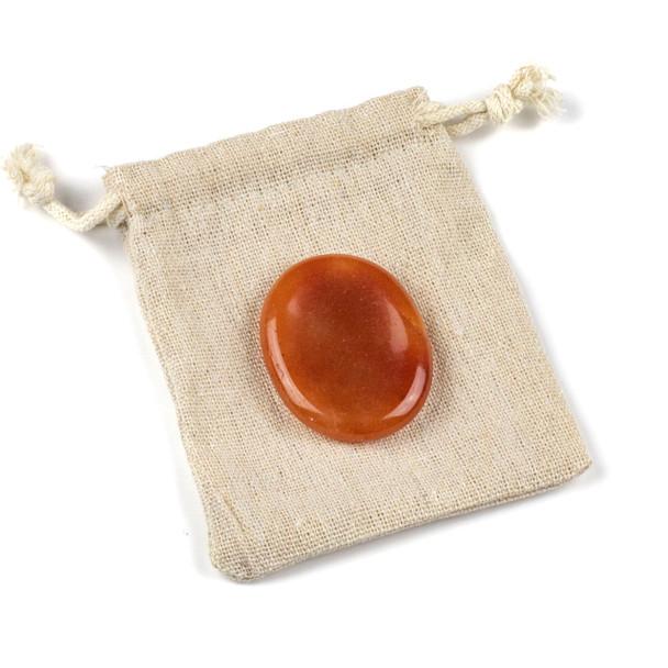 Red Aventurine Worry Stone - 1 per bag