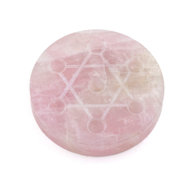 Rose Quartz Crystal Grid