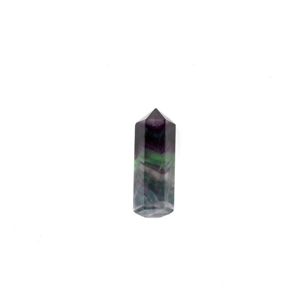 Rainbow Fluorite Small Crystal Point Tower - 1 piece