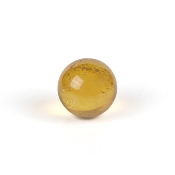 """Yellow Calcite Sphere #1 - approx. 1.5"""", 1 piece"""