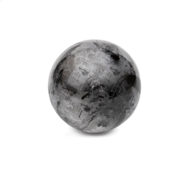 "Rutilated Quartz Sphere #3 - approx. 2.25"", 1 piece"