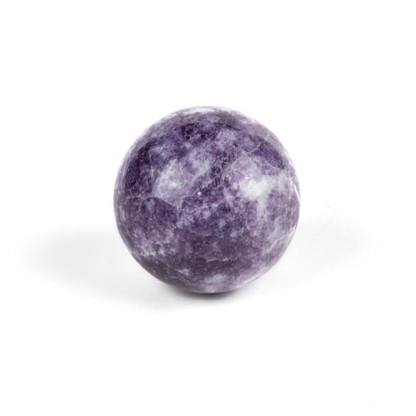 "Lepidolite Sphere #1 - approx. 2.25"", 1 piece"