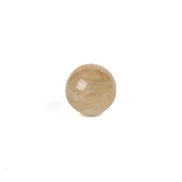 "Gold Rutilated Quartz Sphere #1 - approx. 1"", 1 piece"