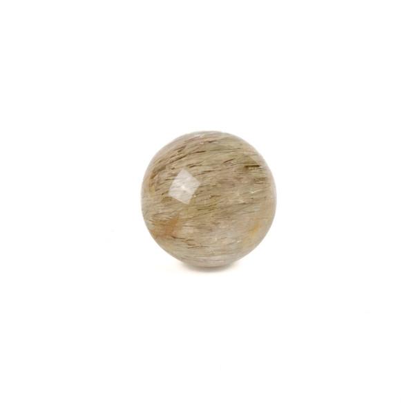 "Gold Rutilated Quartz Sphere #2 - approx. 1.5"", 1 piece"