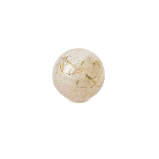 "Gold Rutilated Quartz Sphere #4 - approx. 1.5"", 1 piece"