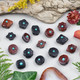 Carved Wood Focal Beads and Pendants