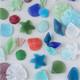 Sea Glass Style Pendants