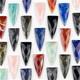 Arrowhead, Shield, & Dagger Shaped Pendants