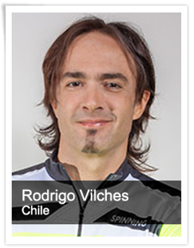 Rodrigo Vilches, Spinning® Master Instructor | Chile