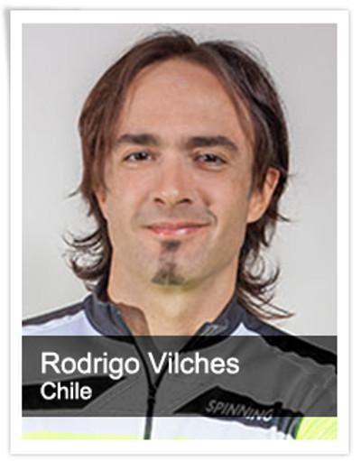 Rodrigo Vilches, Spinning® Master Instructor   Chile