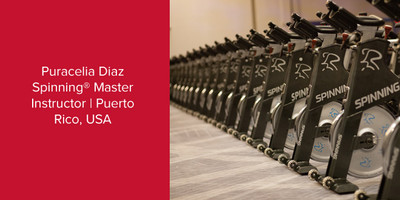 Puracelia Diaz, Spinning® Master Instructor | Puerto Rico, USA