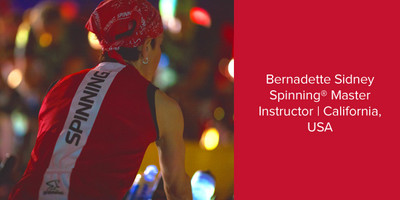 Bernadette Sidney, Spinning® Master Instructor | California, USA