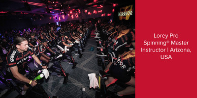 Lorey Pro, Spinning® Master Instructor | Arizona, USA