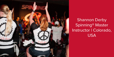 Shannon Derby, Spinning® Master Instructor | Colorado, USA