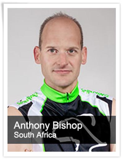 Anthony Bishop, Spinning® Master Instructor   South Africa