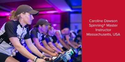 Caroline Dawson, Spinning® Master Instructor | Massachusetts, USA
