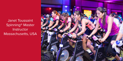 Janet Toussaint, Spinning® Master Instructor and Power Specialist Master Instructor | Massachusetts, USA