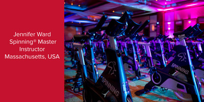 Jennifer Ward, Spinning® Master Instructor | Massachusetts, USA